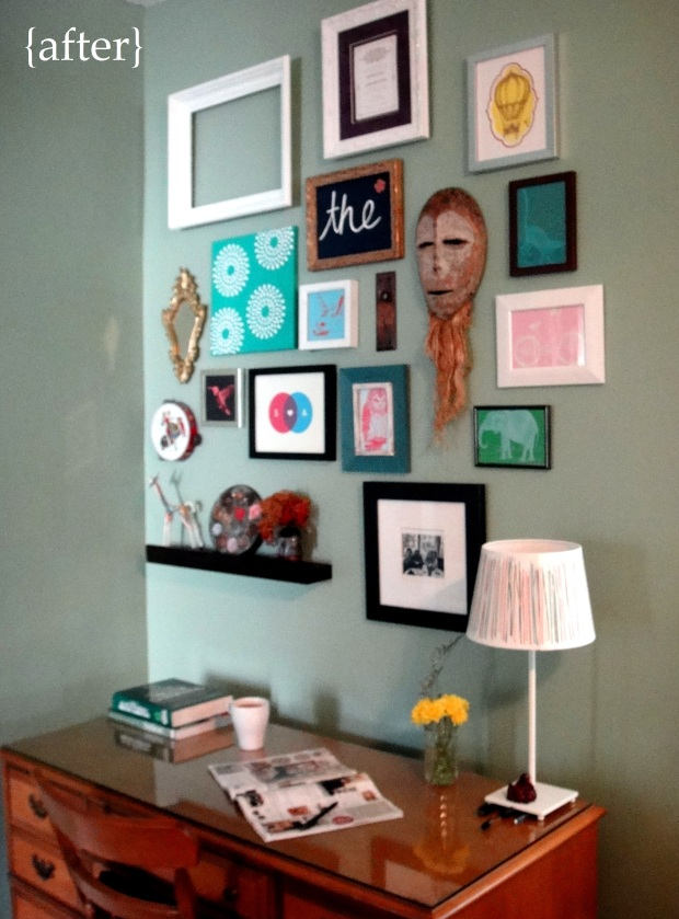 Gallery Wall After
