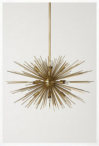Satellite Chandelier - Anthropologie