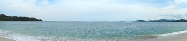 Pacific ocean panorama