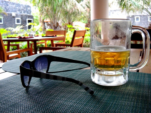 Imperial Beer and Kate Spade sunglasses