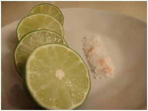 Limes and Himalayan Salt