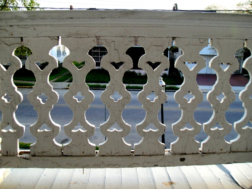 decorative porch railing