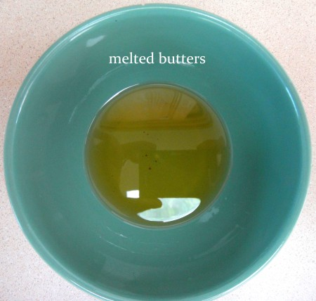 melted butters