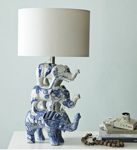 Shirley Fintz table lamp - West Elm