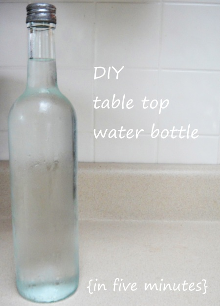 Table Top water bottle