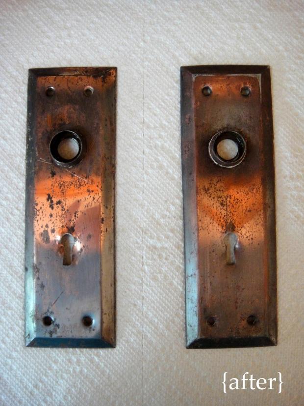 11 Door hardware after