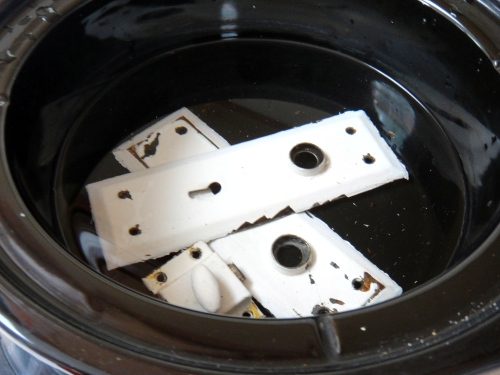 6 Door fixtures in crock pot