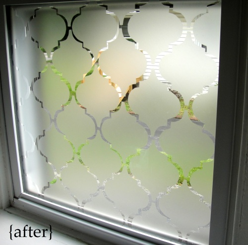 Bathroom window after with text