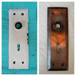 Before and after door fixture
