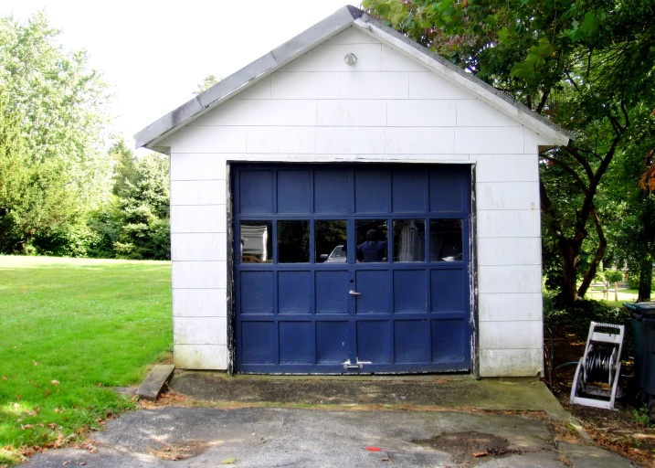 old detached garage