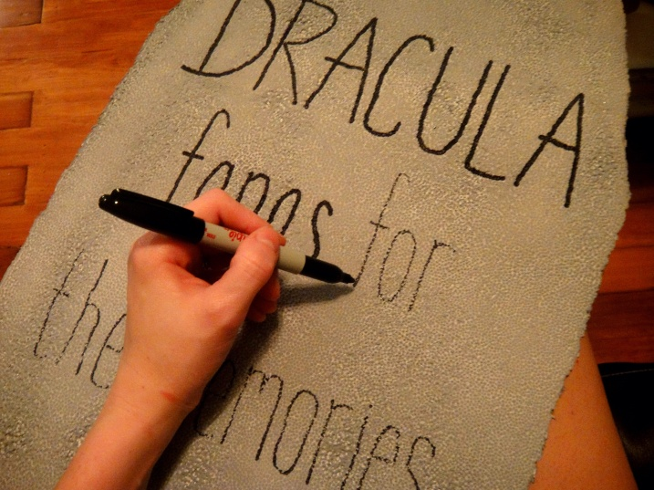 Dracula Tombstone Text