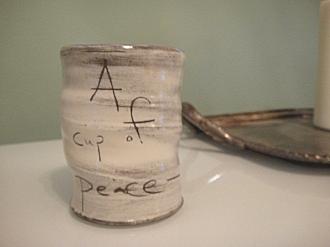 A cup of peace Coffee Mug