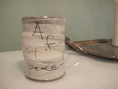 A cup of peace Coffee Mug