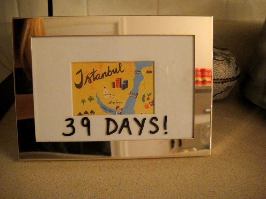 Dry Erase Countdown