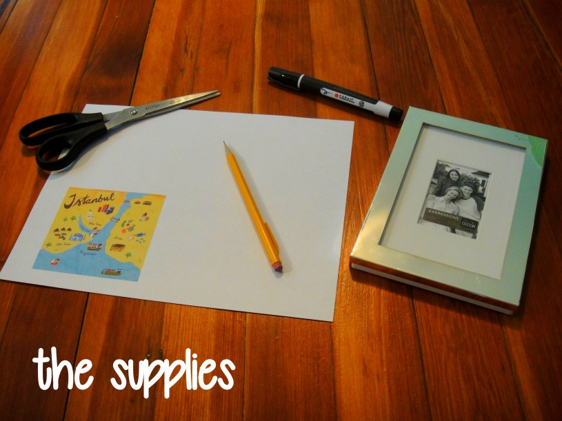 Supplies for Dry Erase Countdown