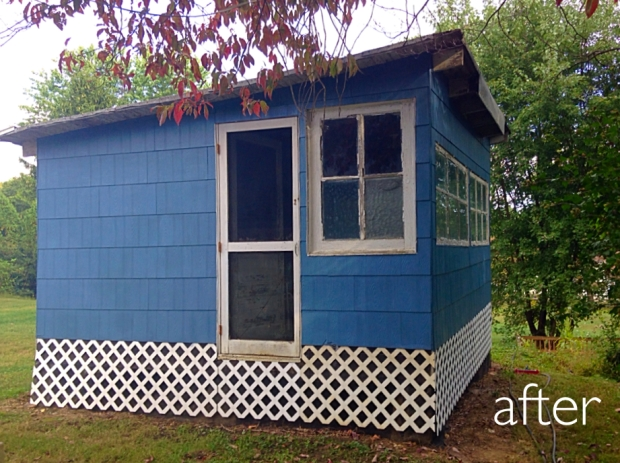 Bungalow Blue Coop