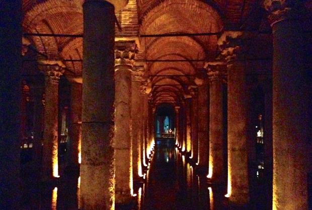 Basilica Cistern Columns 2014 So Pretty is as Pretty Does