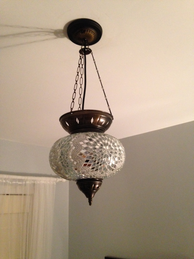 Pendant Light with Canopy