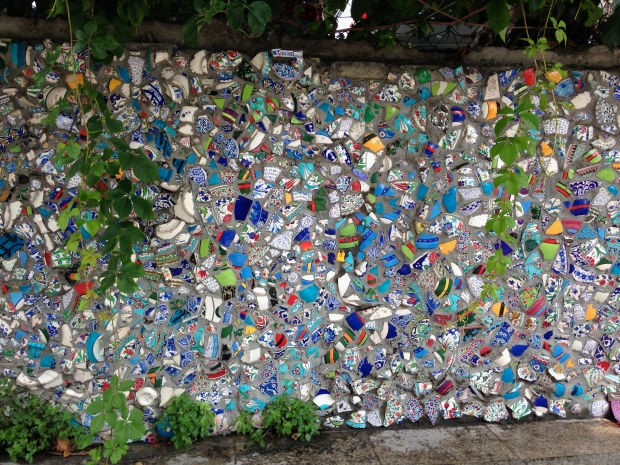 Glass mosaic in Istanbul
