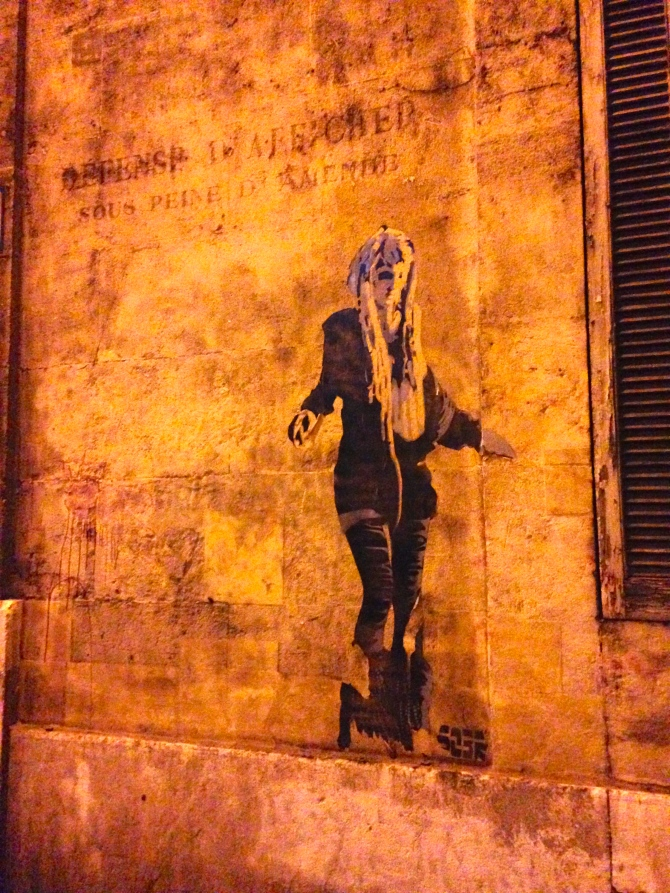 Girl in Marseille