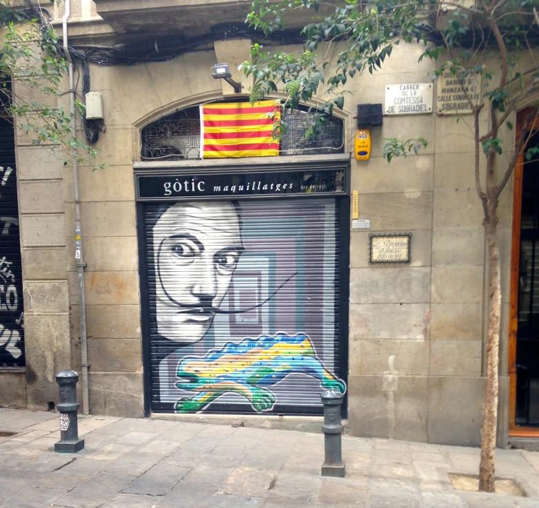 Dali in Barcelona