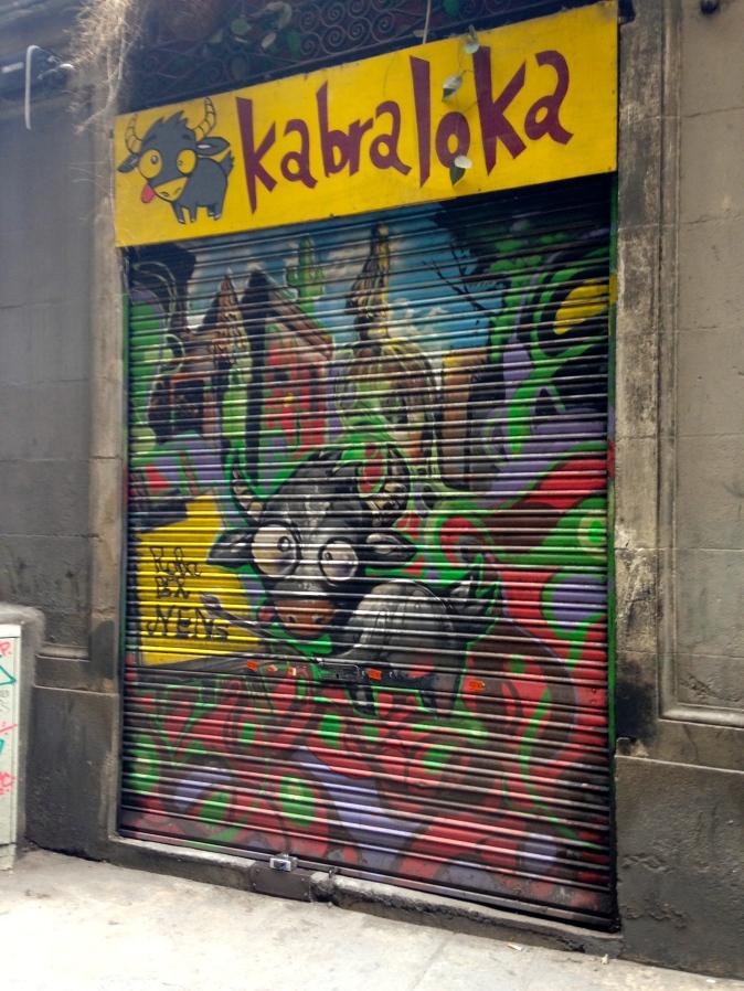 Donkey in Barcelona