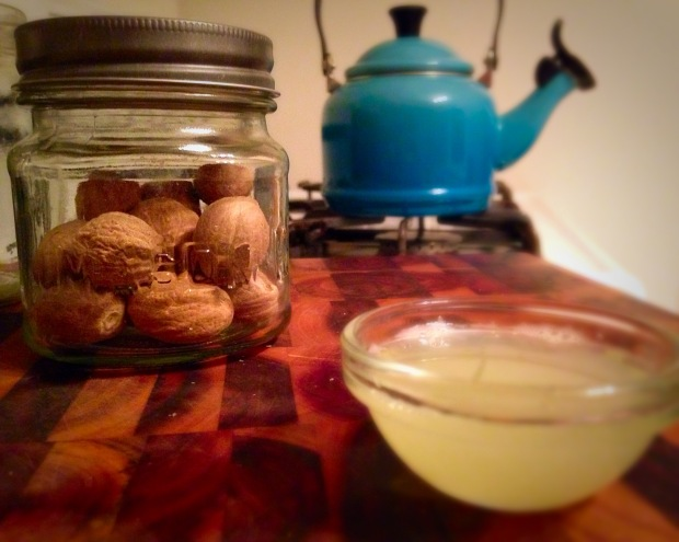 Lime Juice, Tea Kettle, Nutmeg