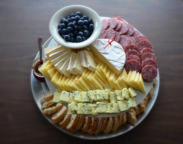 Cheese Platter overhead